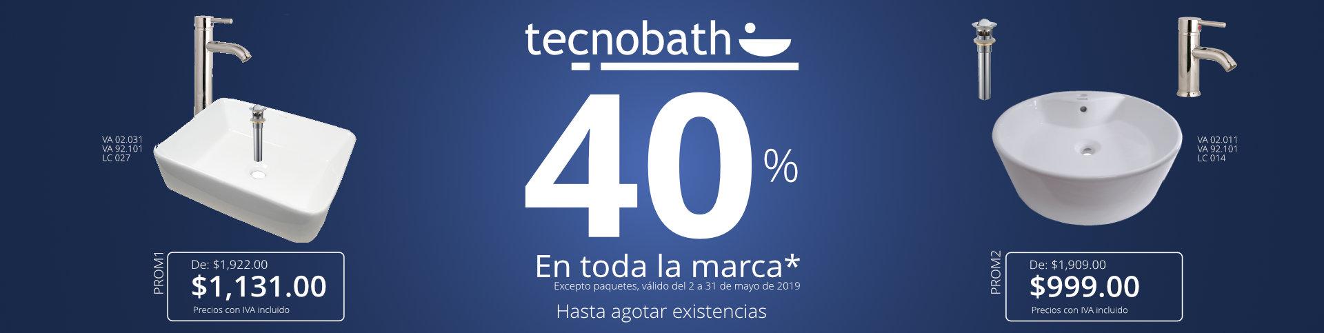 Promoción Tecnobath