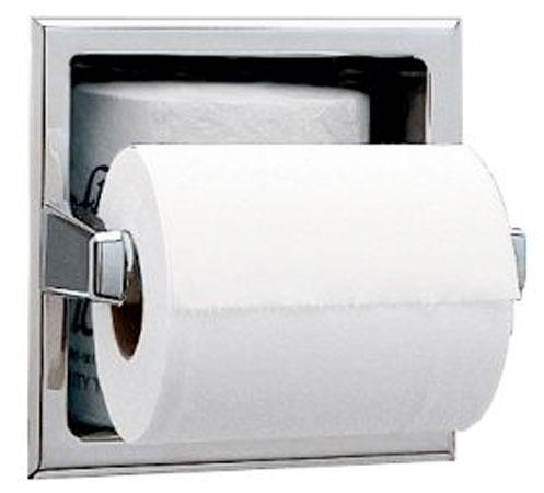Portarrollos de papel higi nico b 663 bobrick for Portarrollos de papel higienico