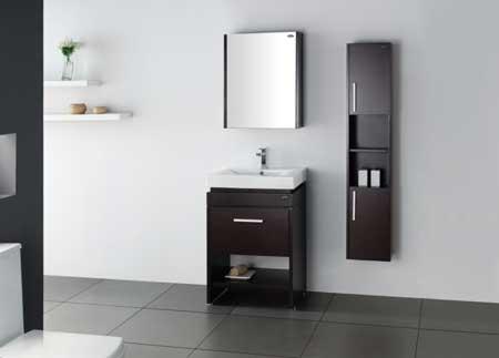 Tina de ba o griferia bidet lavabo fluxometro regaderas for Gabinetes para bano en madera