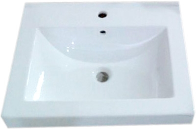 Lavabo Cuadrado de Cerámica - P-7644