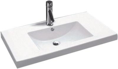 Lavabo Rectangular de Cerámica - P-7644-1