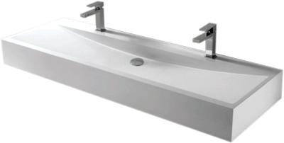 Lavabo Rectangular de Resina - P-6909