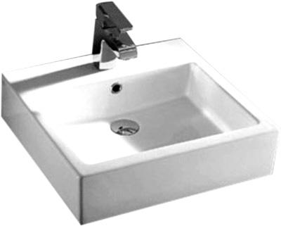 Lavabo Cuadrado de Cerámica - P-7803