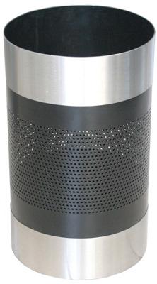 Cesto de Acero con Lámina Perforada - 504011