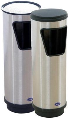 Cenicero Doble Función de Acero Pulido - 301011