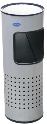 Cenicero Punzonado de Acero Pulido - 302011