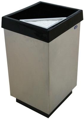 Cenicero Cubo de Tapa Plana - 632011