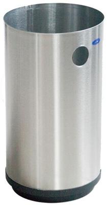 Cesto Cilíndrico de Acero Pulido - 501111