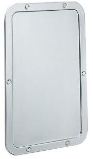Espejo sin marco b 942 bobrick for Espejos ovalados sin marco