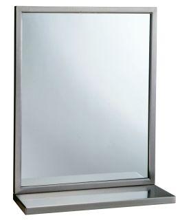 Espejo con Estante - B-292 24X36