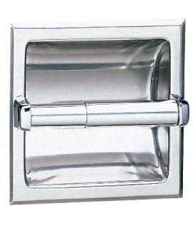 Portarrollos de Papel Higiénico Empotrado - B-667
