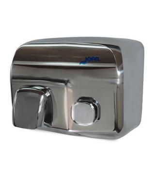 Secador Silver Inoxidable Pulsador - AA91126