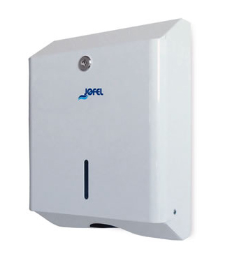 Dispensador de Toallas Z Epoxi Blanco - AH20000