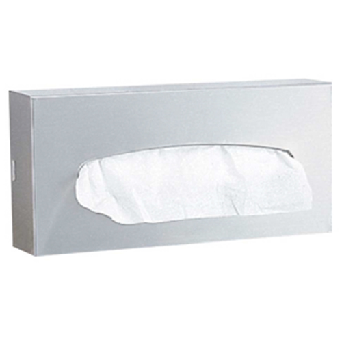 Dispensador de pañuelos faciales a muro