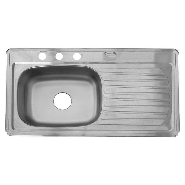 Tina de ba o griferia bidet lavabo fluxometro regaderas for Fregaderos de aluminio