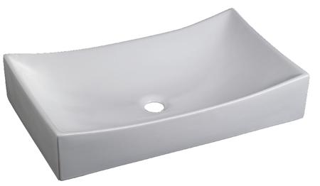 Lavabo Rectangular de Cerámica - P-7493-1