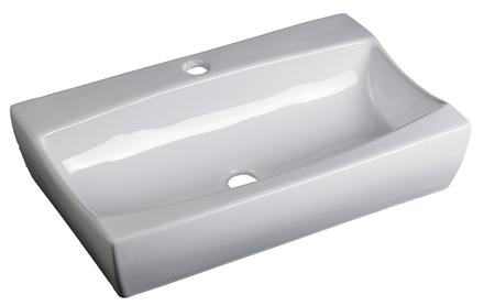 Lavabo Rectangular de Cerámica - P-7520
