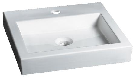 Lavabo Rectangular de Cerámica - P-7552