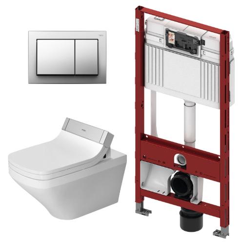 SensoWash con WC Suspendido DuraStyle