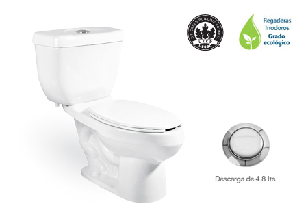 Inodoro de Dos Piezas - WC DRAKAR