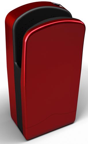 Secador de Manos - Veltia Cherry Red