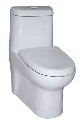 Escusado de una Pieza (6/3 litros) - WC 007