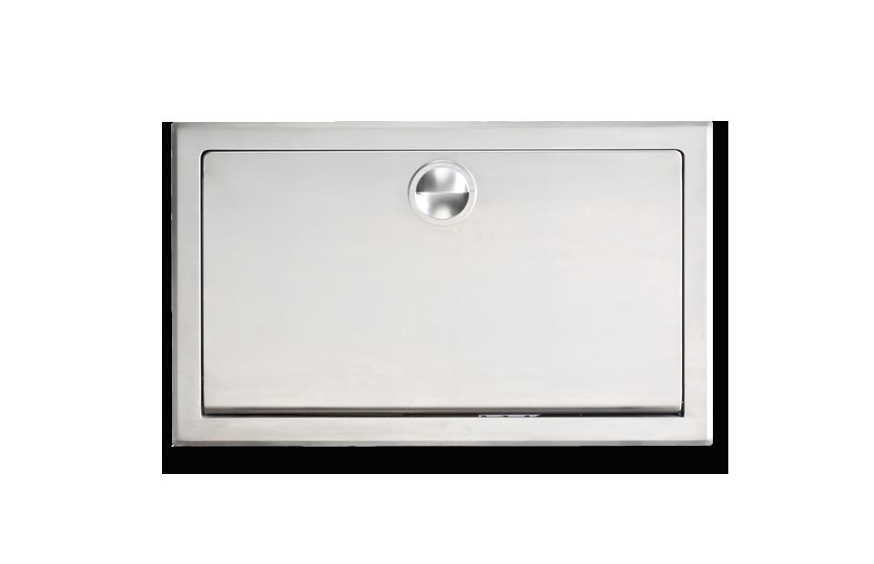 Cambiador de Pañales Horizontal para Empotrar - KB-110-SSRE
