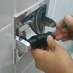 Eje para papel higiénico antirrobo